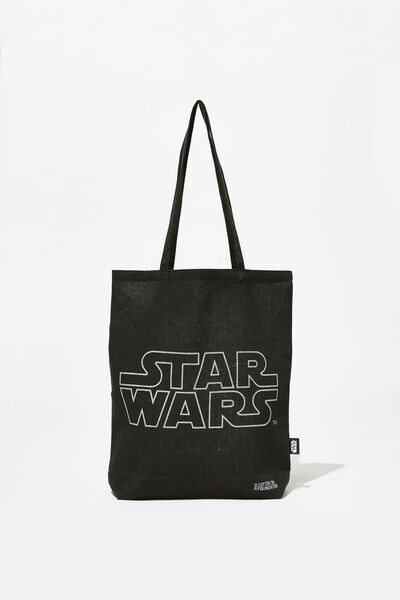 Foundation & Friends Tote Bag, STAR WARS LOGO