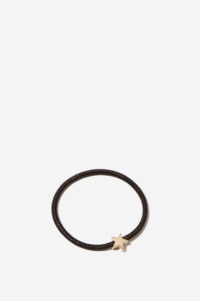 Juliet Bracelet, BLACK GOLD STAR