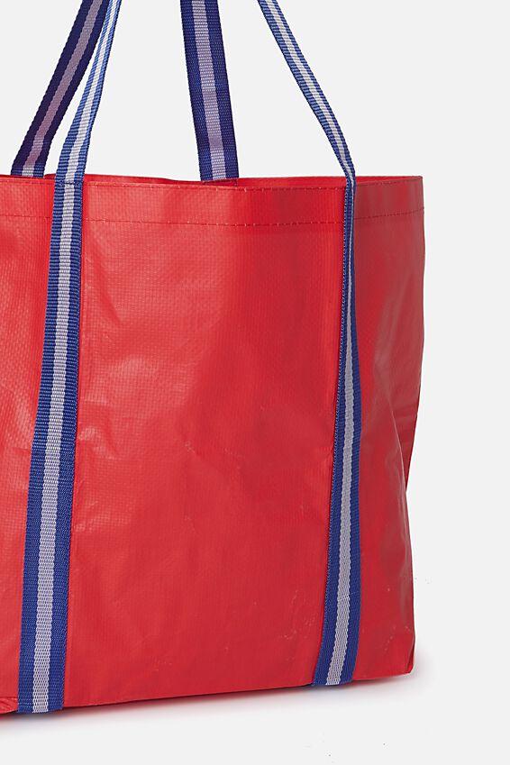 Foundation  Large Shopper, POPPY RED