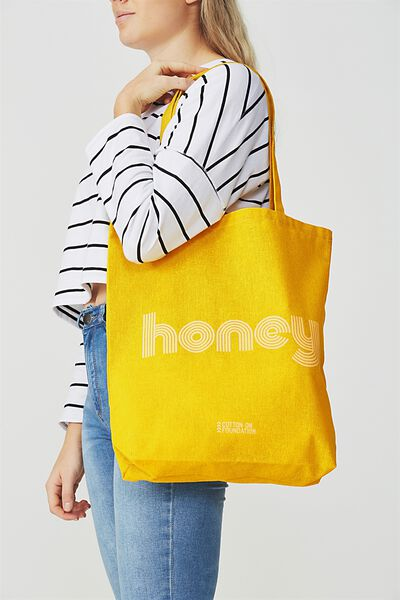 Cotton On Foundation Tote, HONEY