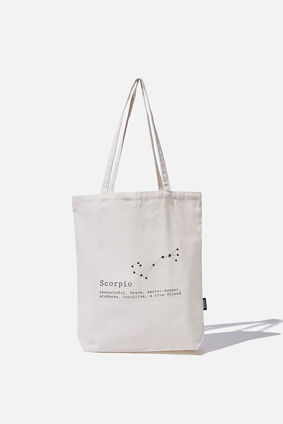 Foundation Online Exclusive Star Sign Tote, SCORPIO
