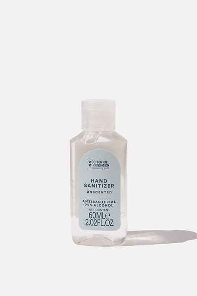 Foundation Hand Sanitiser Gel 60Ml, BLUE