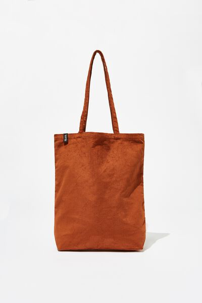 Foundation Fashion Tote, CORD BAKED CLAY