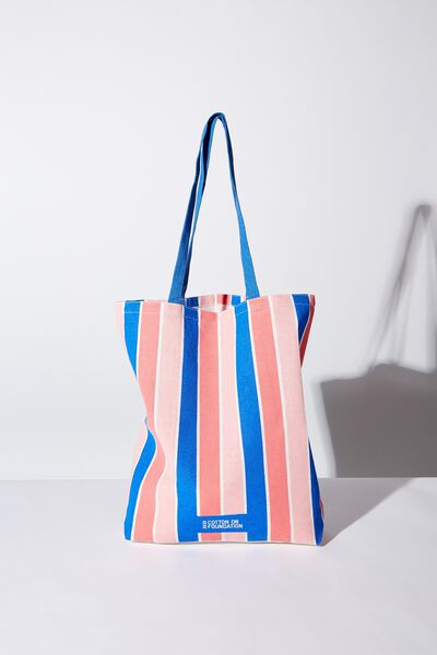 Foundation Online Exclusive Totes, VERTICLE STRIPE