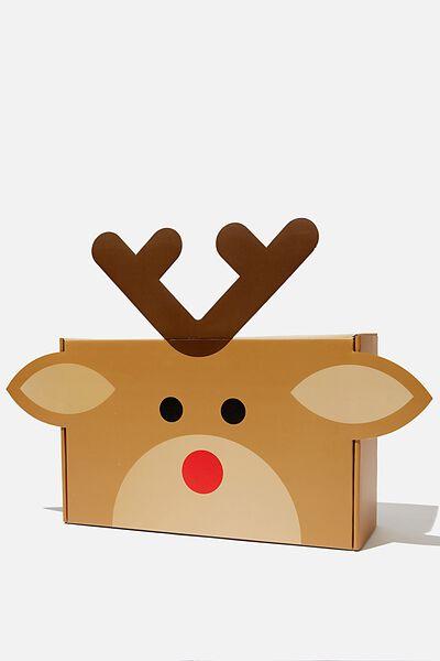 Cof Gift Box, L REINDEER