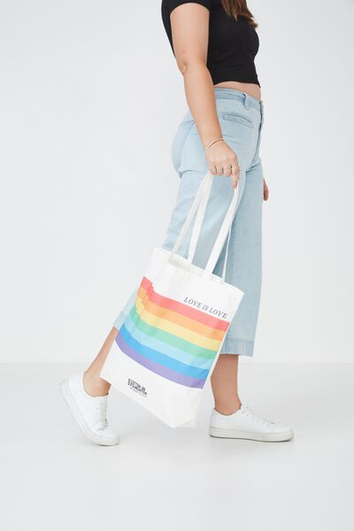 Foundation Online Exclusive Totes, LOVE IS LOVE
