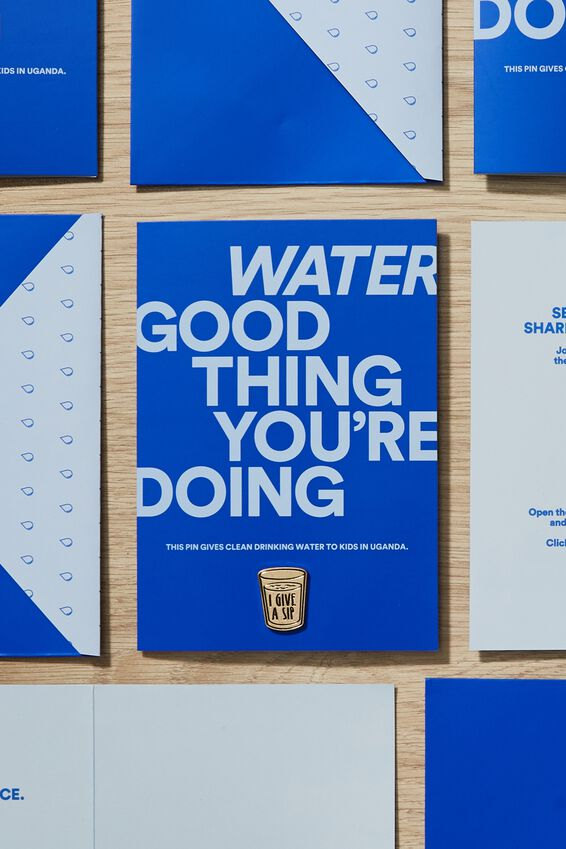 Gifts That Give 2019, GIFTS THAT GIVE - WATER