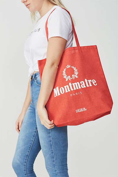 Cotton On Foundation Tote, MONMATRE
