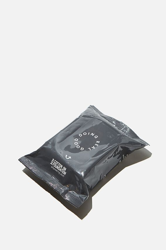 Foundation Alcohol Wipes, BLACK