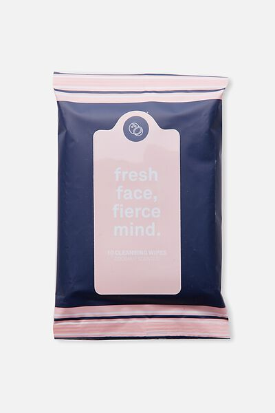 The 100% Difference Cleansing Wipes, PEACH NAVY /COCONUT