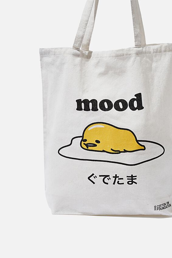 Foundation & Friends Tote Bag, GUDETAMA