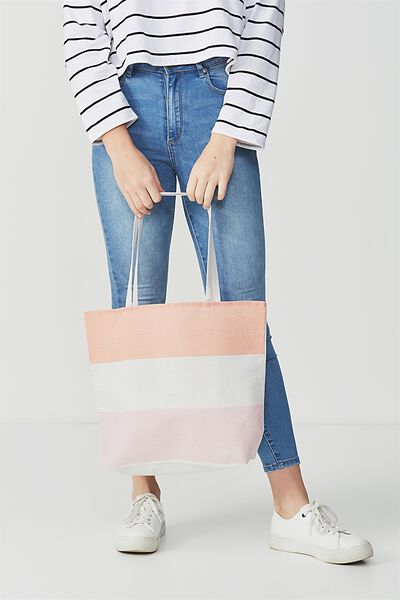Rubi Foundation Tote, GELATO COLOUR BLOCK