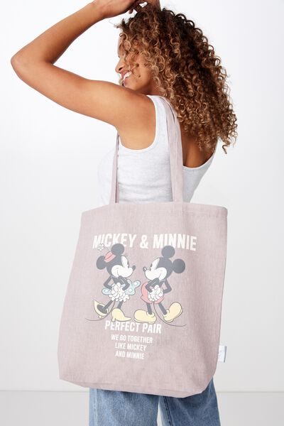 Foundation & Friends Tote Bag, MICKEY & MINNIE