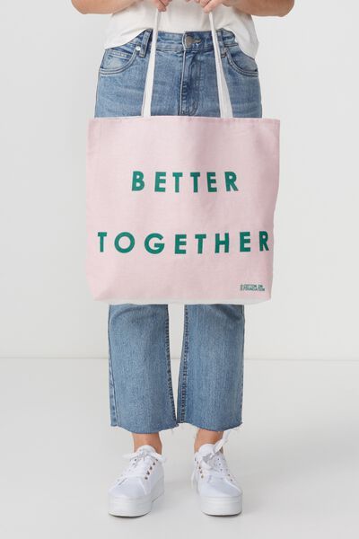 Body Tote Bag, BETTER TOGETHER