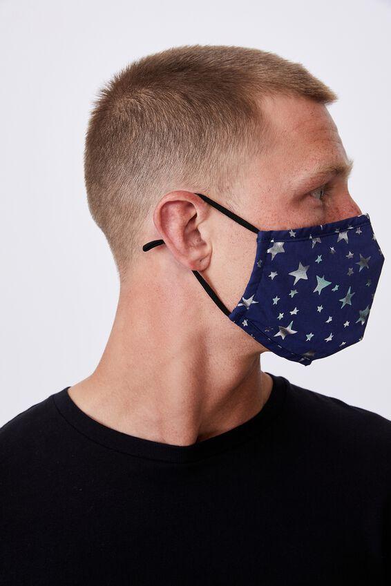 Foundation Face Mask Adults, STARS