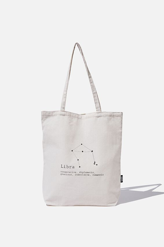Cof Online Exclusive Star Sign Tote, LIBRA