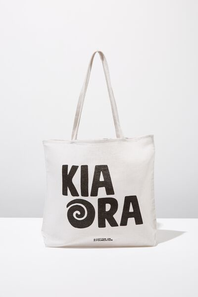 Cotton On Ladies Foundation Tote, NEW KIA ORA