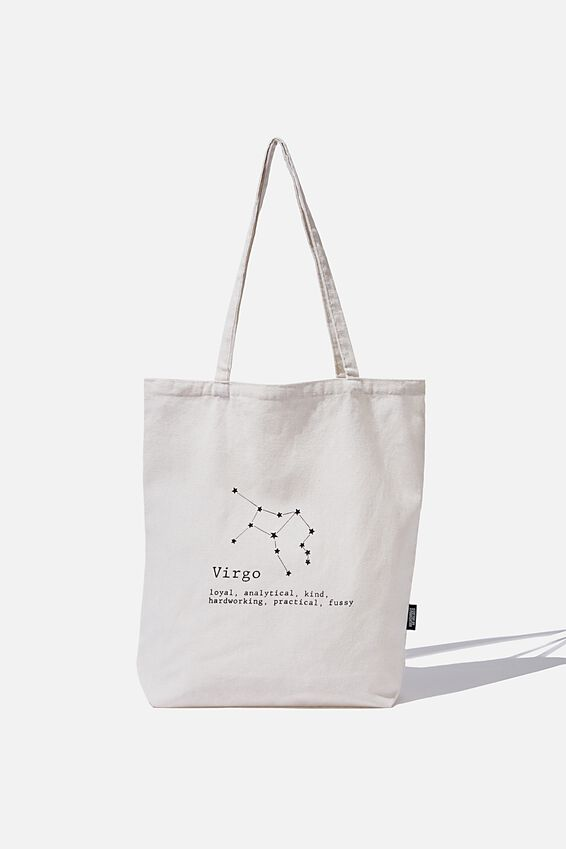 Foundation Online Exclusive Star Sign Tote, VIRGO