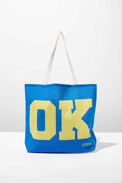 Body Tote Bag, OK