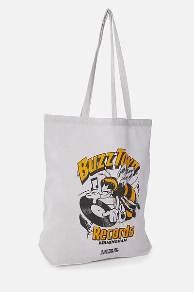 Cotton On Foundation Tote, BUZZTOWN