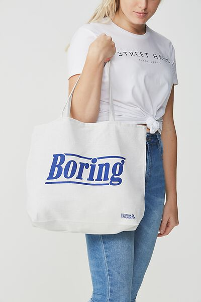 Cotton On Foundation Tote, BORING