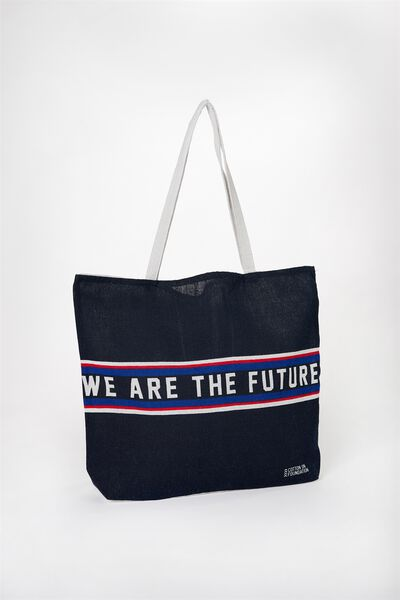 Foundation Kids Tote Bag, WE ARE THE FUTURE
