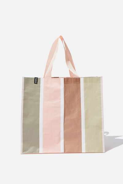 Foundation Large Shopper, BEACH STRIPE