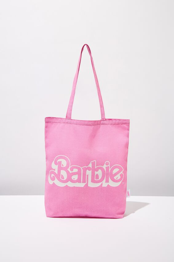 Foundation & Friends Tote Bag, BARBIE LOGO