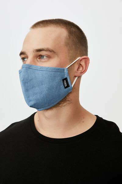 Foundation Mask Adults, DENIM