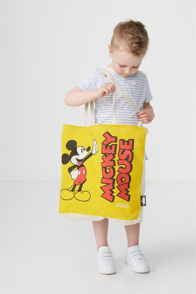 Foundation Kids Tote Bag, MICKEY MOUSE