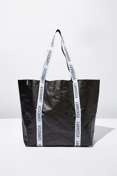 Foundation  Large Shopper, BLACK VISIONARY