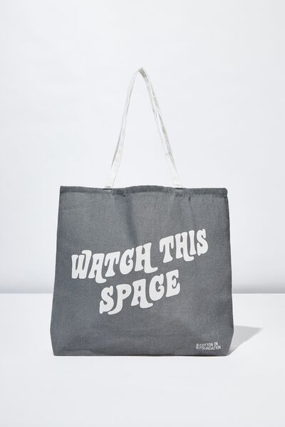 Body Tote Bag, WATCH THIS SPACE