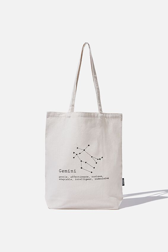 Foundation Online Exclusive Star Sign Tote, GEMINI