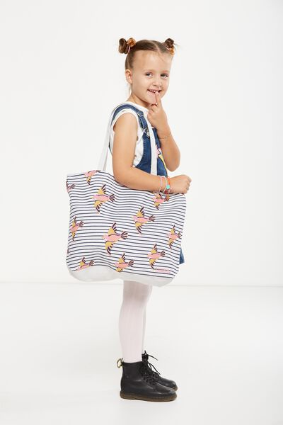 Foundation Kids Tote Bag, FLYING BIRDS