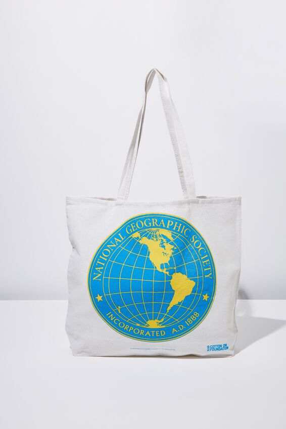 Typo Difference Tote Bag, LCN NG NAT GEO