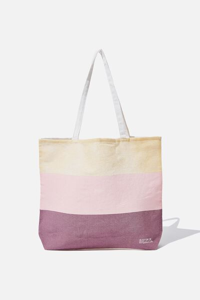 Foundation Tote Bag Adults, NTH STRIPE