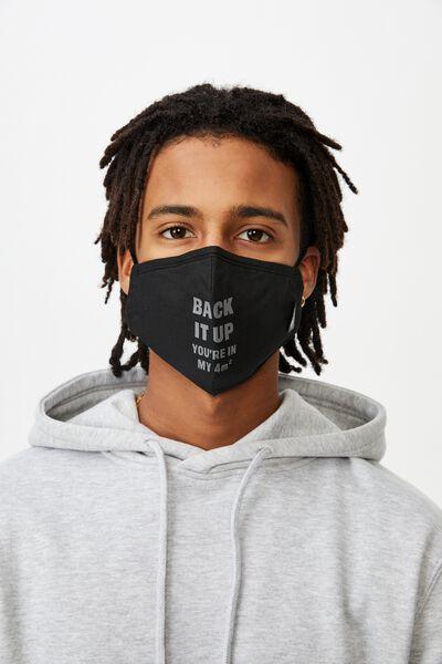 Foundation Face Mask, BACK IT UP
