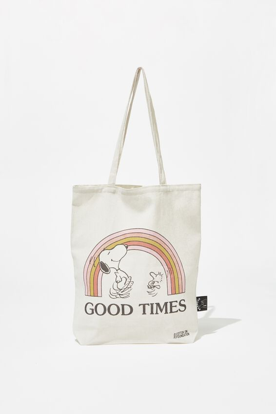 Foundation & Friends Tote Bag, PEANUTS GOOD TIMES
