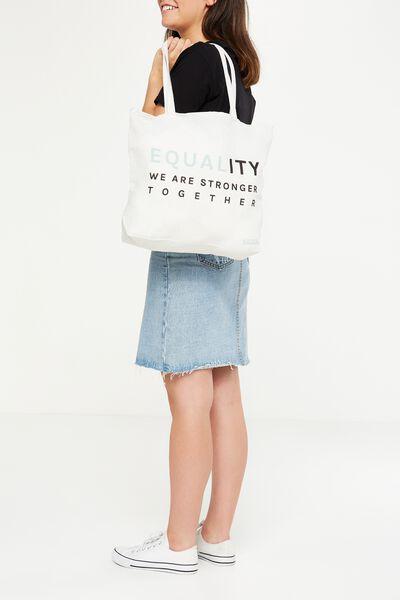 Body Tote Bag, EQUALITY