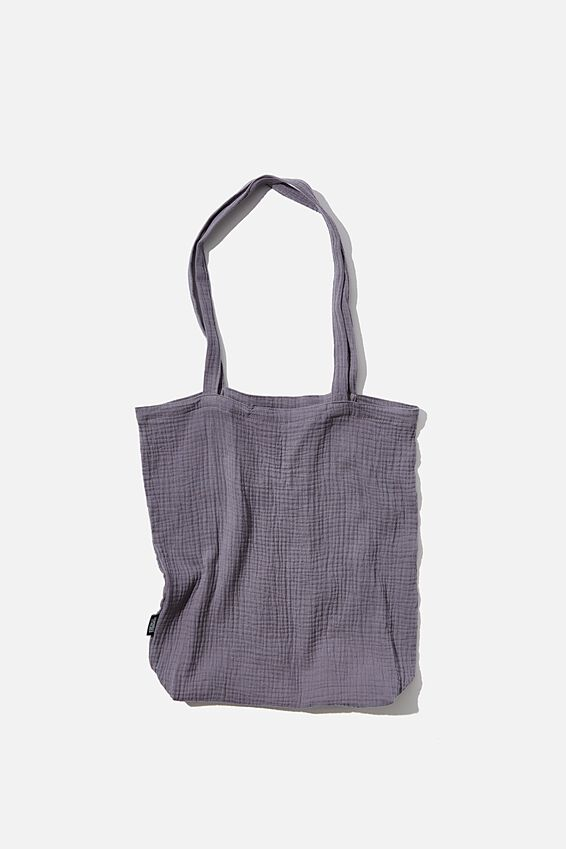 Foundation Fashion Tote, GRISAILLE