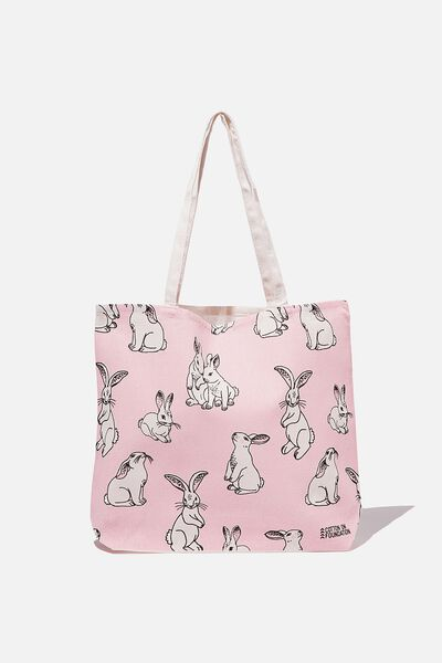 Foundation Kids Tote Bag, BUNNY YARDAGE