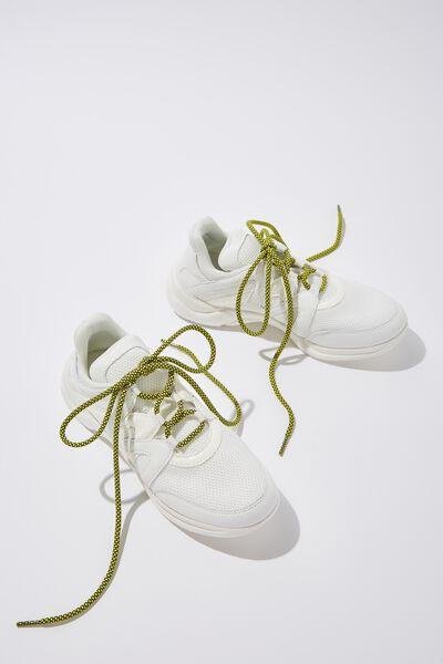 Cof Shoelaces 52 Inch, YELLOW OUTDOOR
