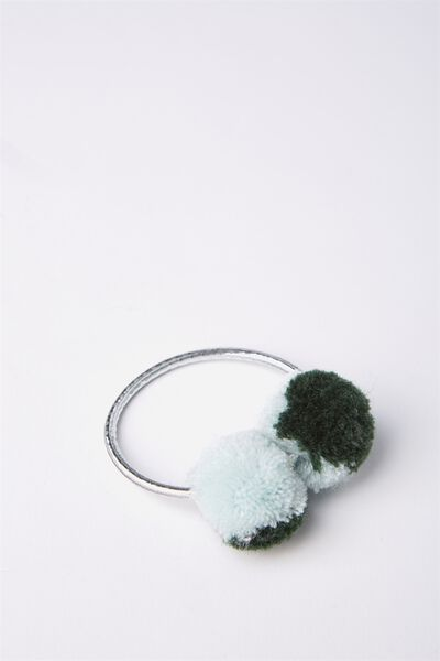 Lucy Pom Pom Band, LEAF GREEN