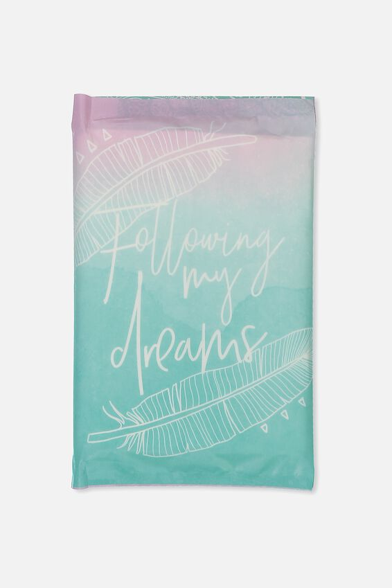 Typo Difference Tissues, FOLLOWING MY DREAMS