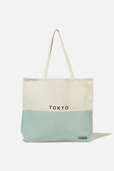 Foundation Tote Bag Adults, SPLICE TOKYO