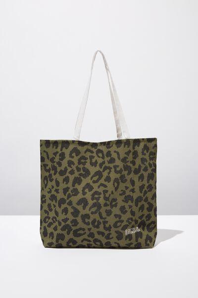 Body Tote Bag, LEOPARD