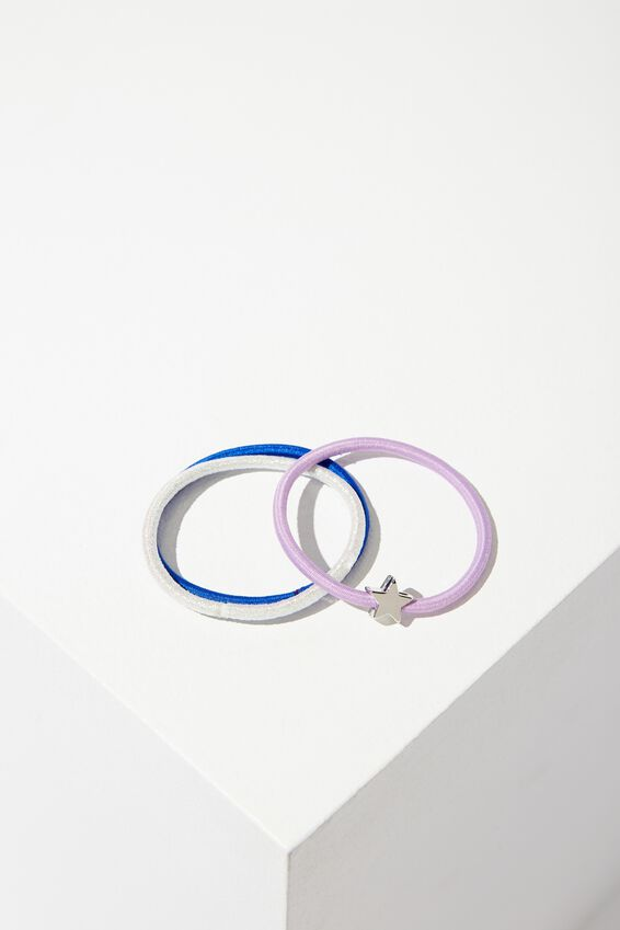 Marion 3 Band Pack, BLUE/LILAC