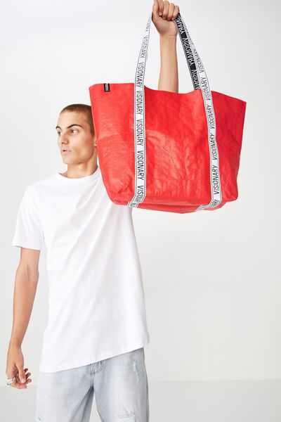 Cof Large Shopper, POPPY RED