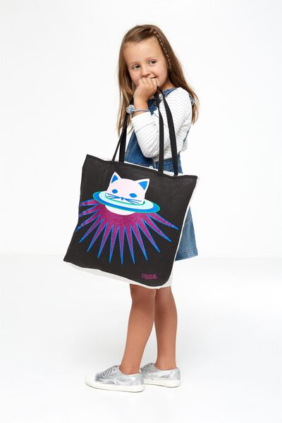 Foundation Kids Tote Bag, PLANET CAT