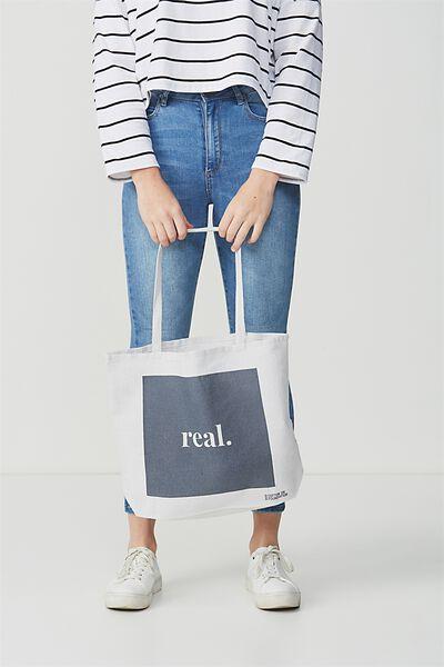 Body Tote Bag, REAL